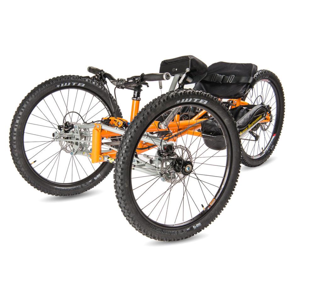 Hammerhead Offroad Handcycle - ReActive Adaptations